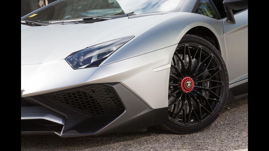 Lamborghini Aventador LP750  SV, Frontscheinwerfer