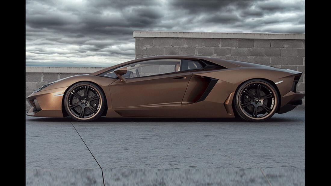 "Lamborghini Aventador ""Rabbioso"" von wheelsandmore, Lamborghini Aventador, Tuning"