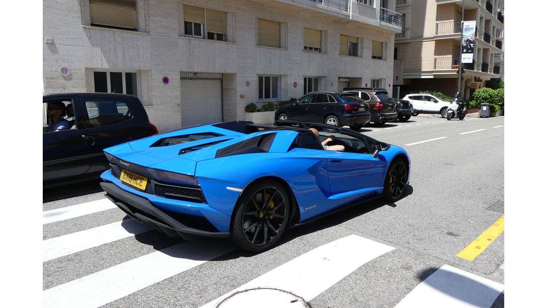 Lamborghini Aventador Roadster - Carspotting - GP Monaco 2018