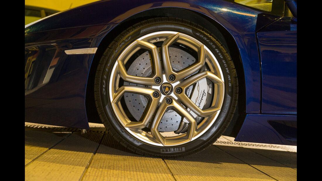 Lamborghini Aventador Roadster, Rad, Felge