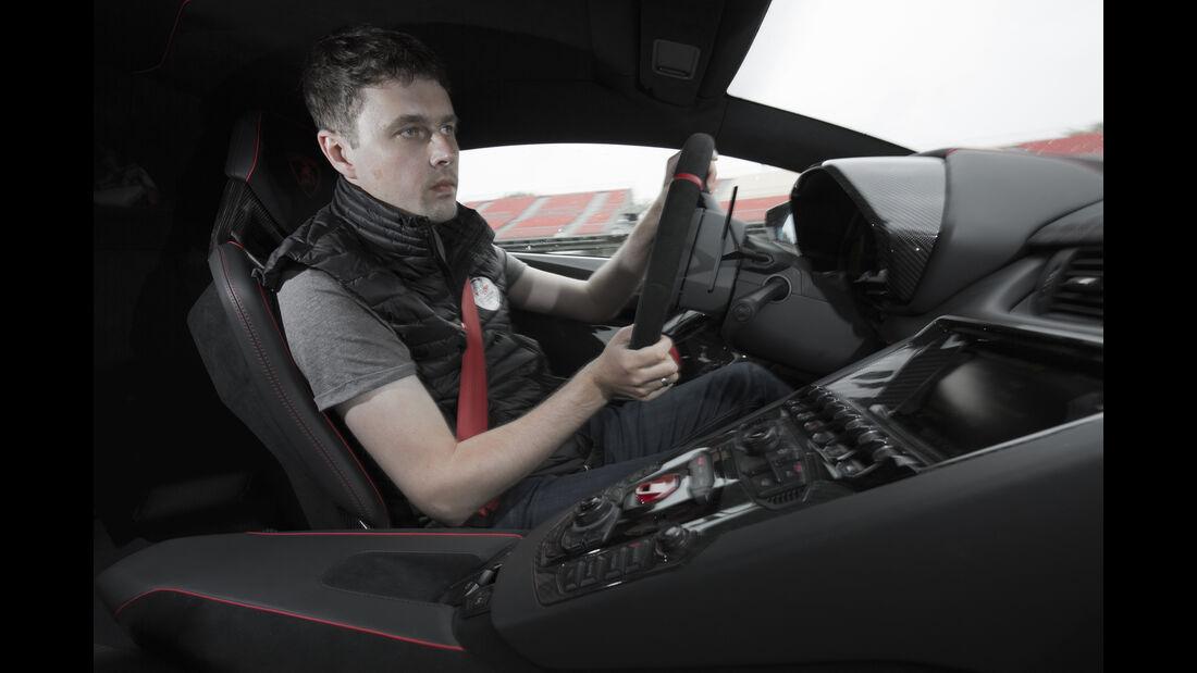 Lamborghini Aventador SV 2015, Helmreich