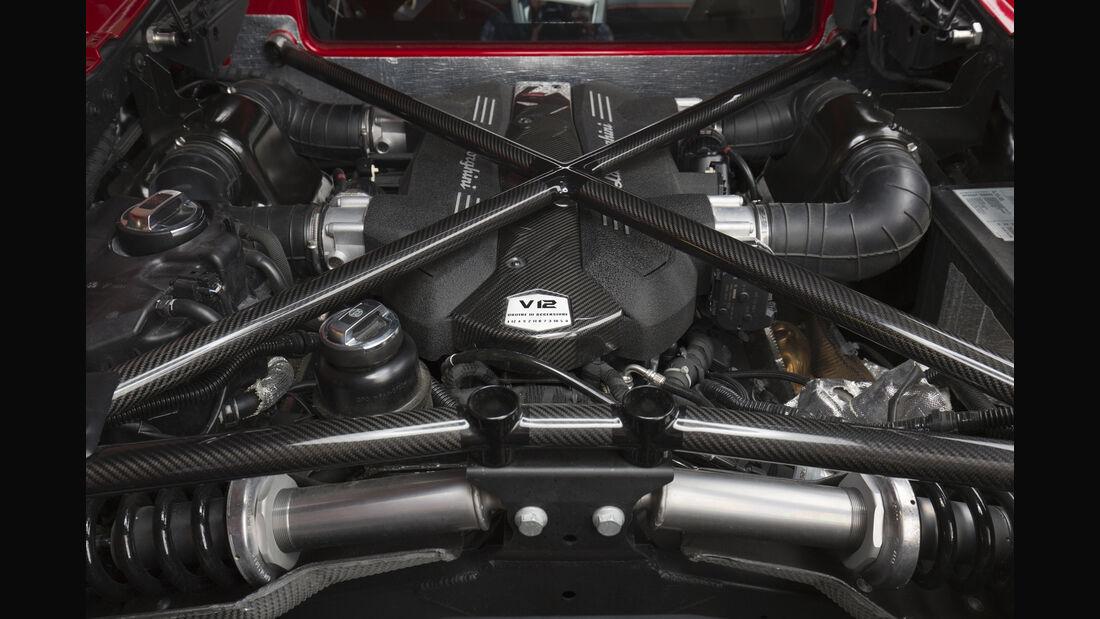 Lamborghini Aventador SV 2015, Motor