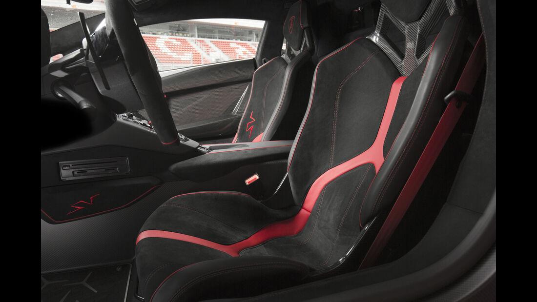 Lamborghini Aventador SV 2015, Sitze