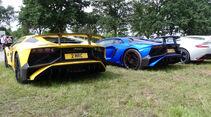 Lamborghini Aventador SV - Carspotting - 24h Le Mans 2018
