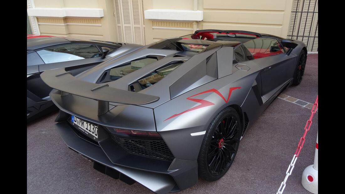 Lamborghini Aventador SV - Carspotting - GP Monaco 2017
