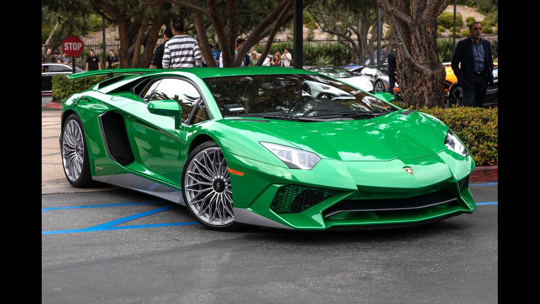 Lamborghini Aventador SV - Newport Beach Supercar Show 2018