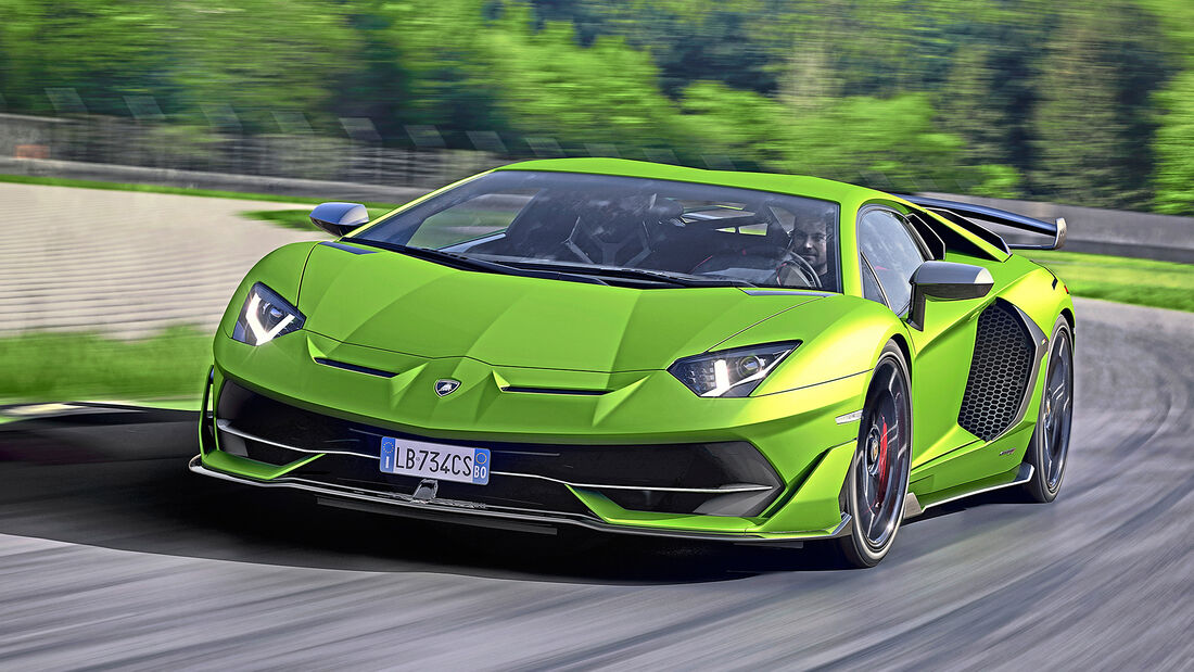 Lamborghini Aventador SVJ, Exterieur