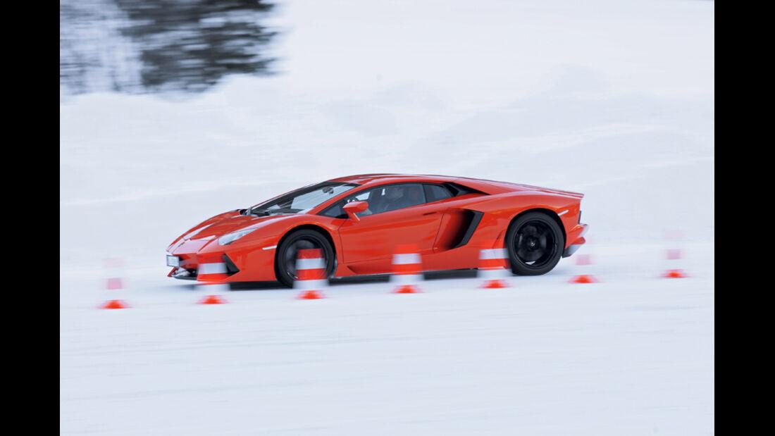 Lamborghini Aventador, Seitenansicht