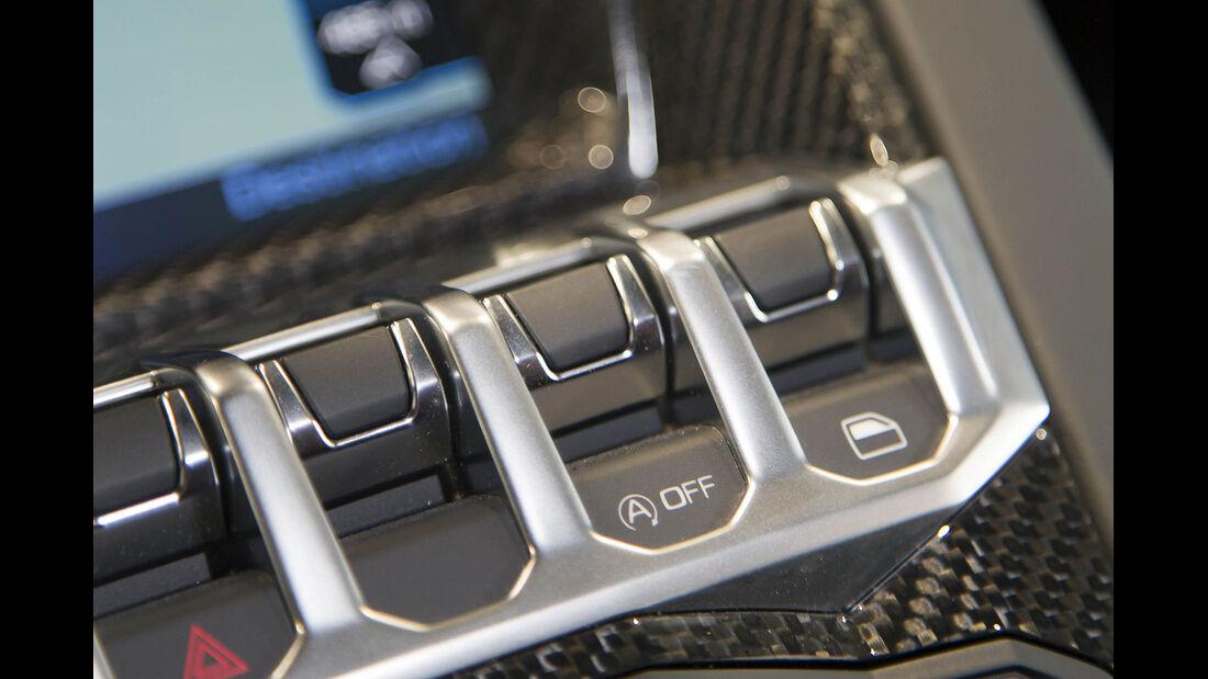Lamborghini Aventador Start Stopp-System