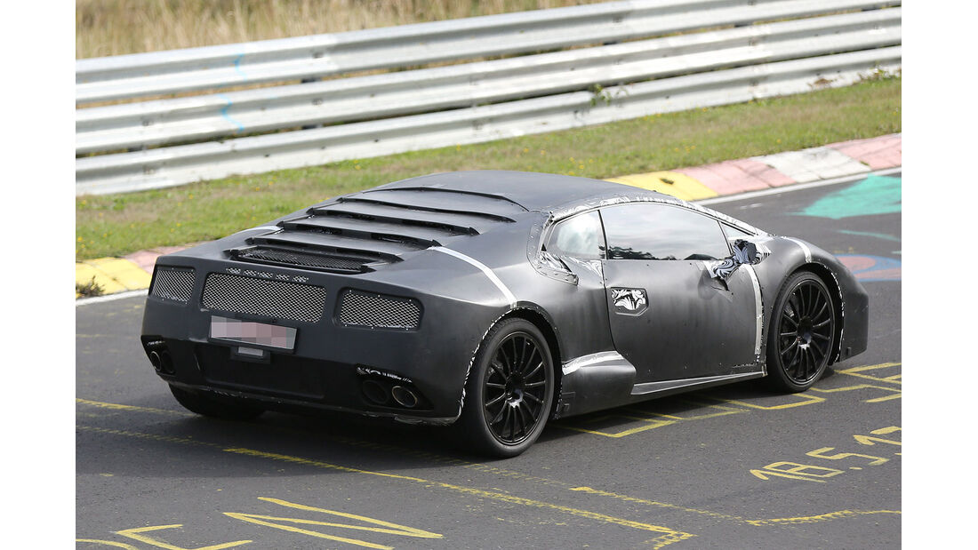 Lamborghini Cabrera Erlkönig