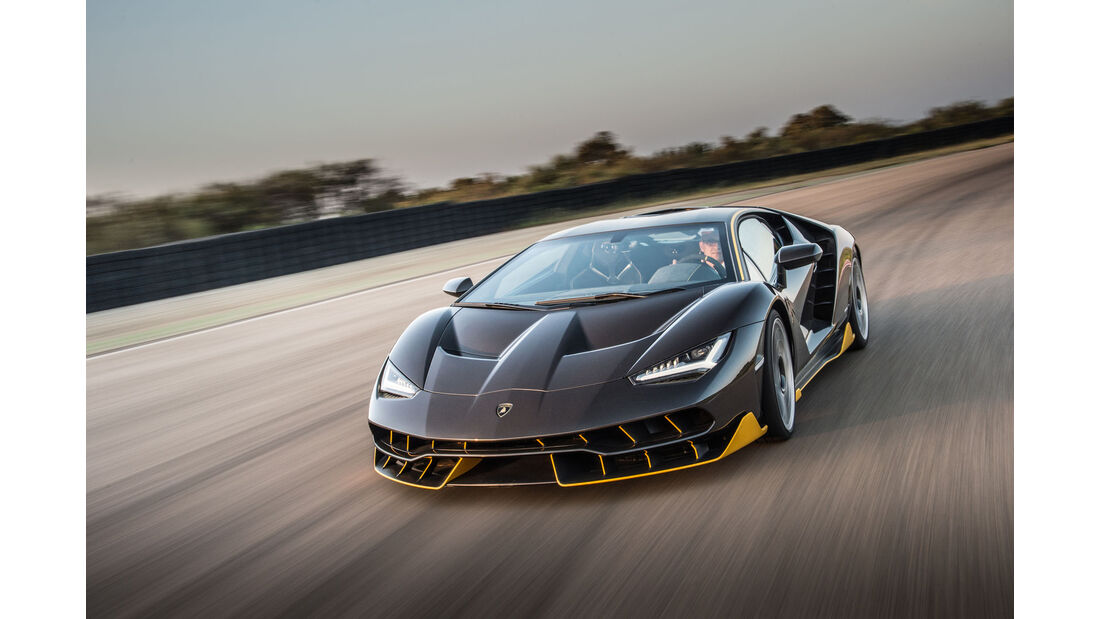 Lamborghini Centenario, Fahrbericht, 07/2016