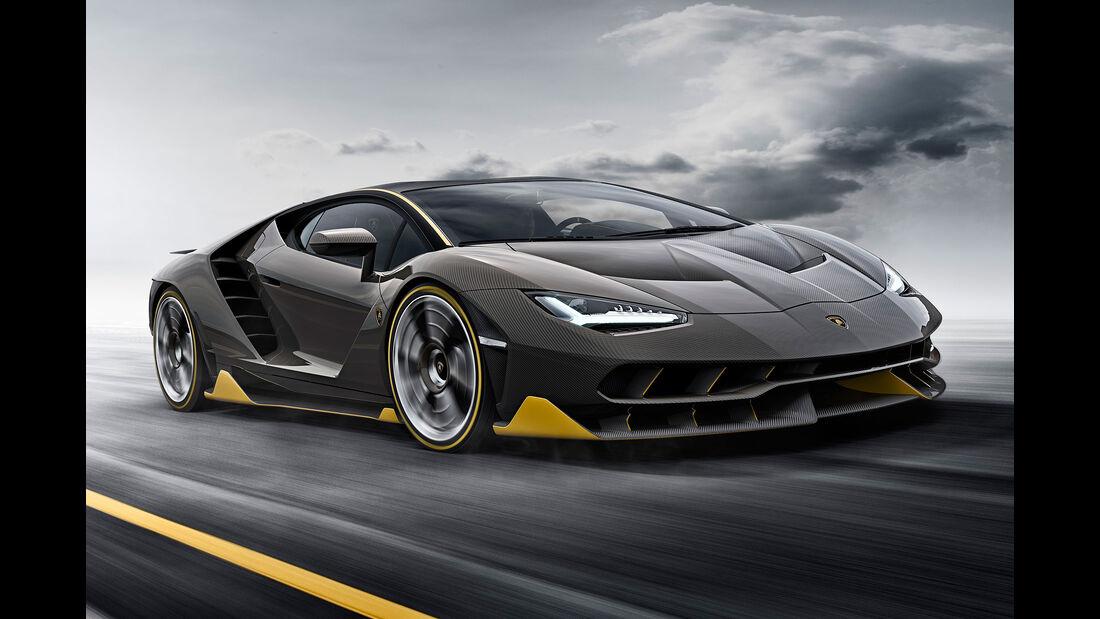 Lamborghini Centenario Sperrfrist 1.3.2016