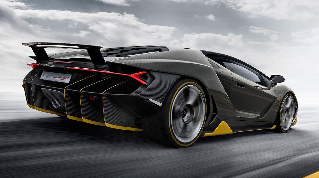 Lamborghini Centenario In Genf 770 Ps 40 Exemplare 23 5 S Fur