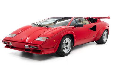 Mario Andrettis Lamborghini zu verkaufen