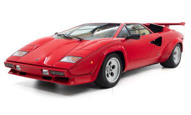 Lamborghini Countach 5000S (1984) ex Mario Andretti