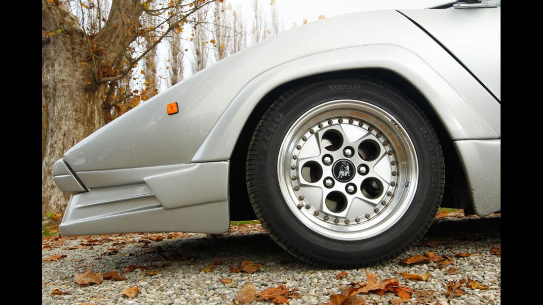Lamborghini Countach Anniversario, Vorderrad, Felge
