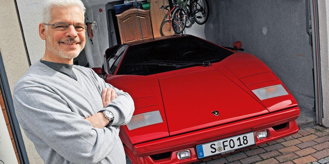Lamborghini Countach, Frontansicht, Bernd Woytal