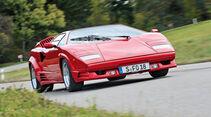 Lamborghini Countach, Frontansicht