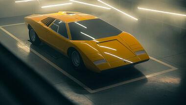 Lamborghini Countach LP 500 Rekonstruktion