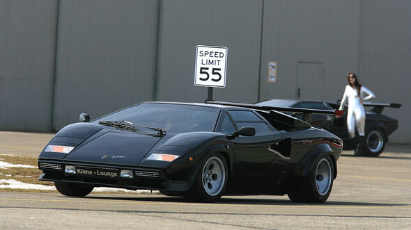 Lamborghini Countach LP 5000 QV, Turbo S, LP 400