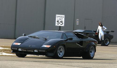 Lamborghini Countach LP 5000 QV, Turbo S, LP 400