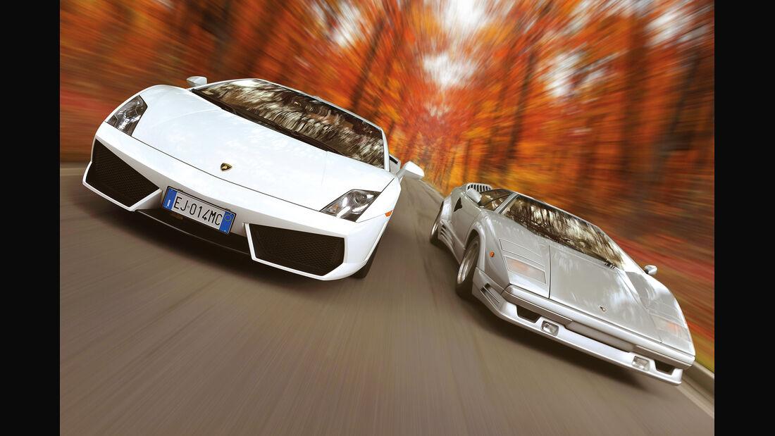 Lamborghini Countach, Lamboghini Gallardo LP 550-2, Frontansicht