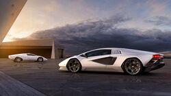 Lamborghini Countach Neuauflage 2021 Leak