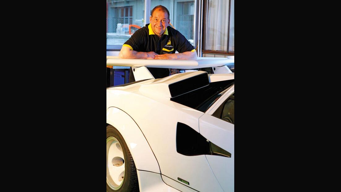 Lamborghini Countach, Roland Staub