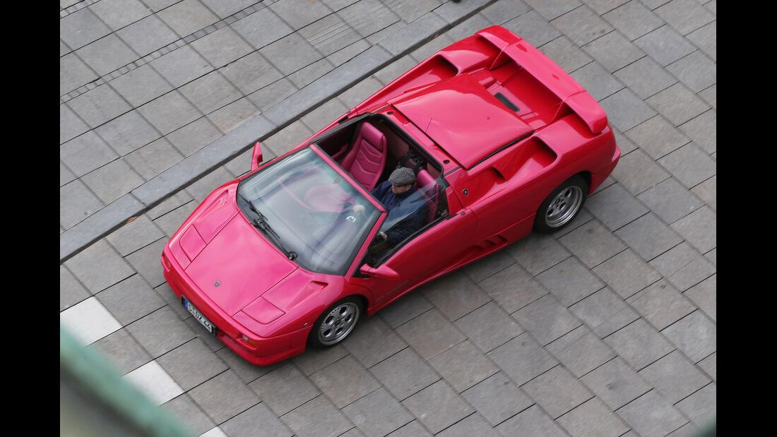 Lamborghini Diablo, Draufsicht