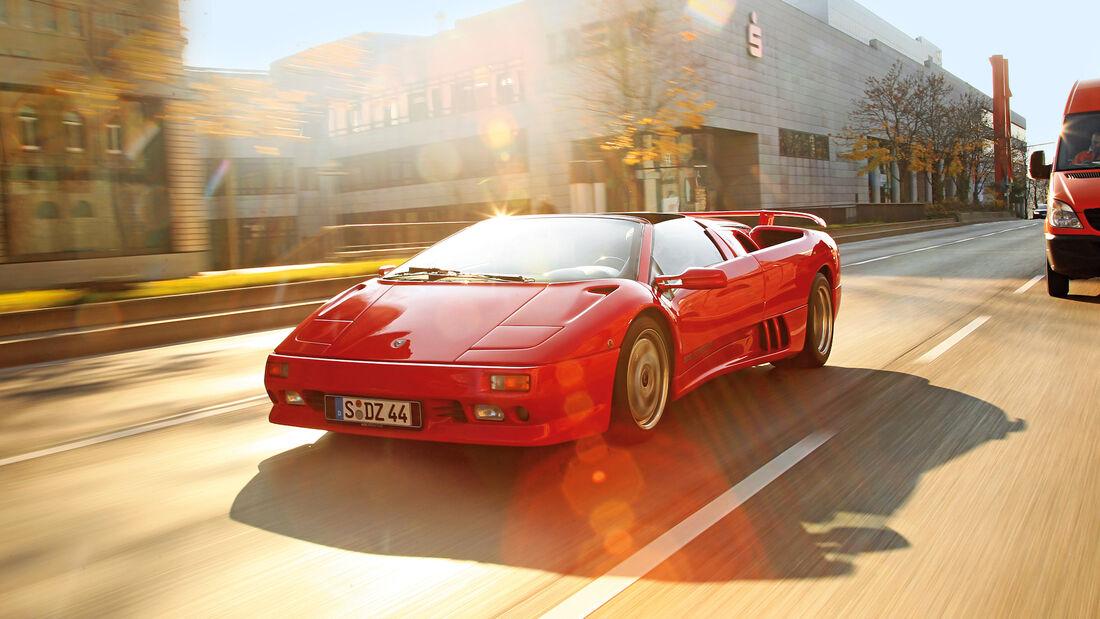 Lamborghini Diablo, Exterieur