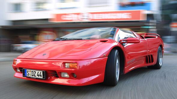 Lamborghini Diablo, Frontansicht