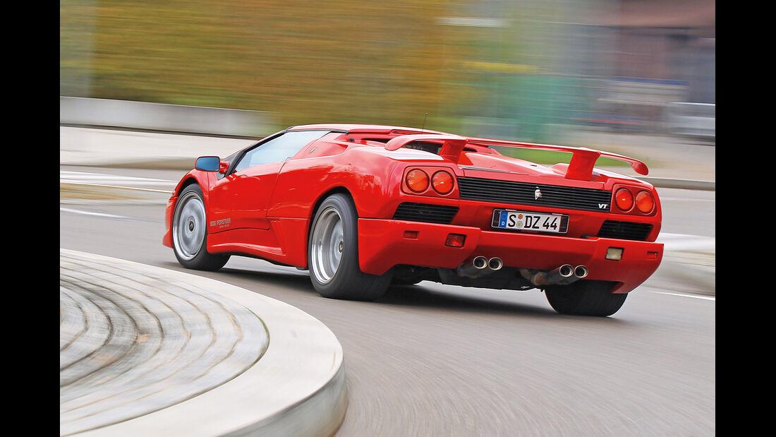Lamborghini Diablo, Heckansicht
