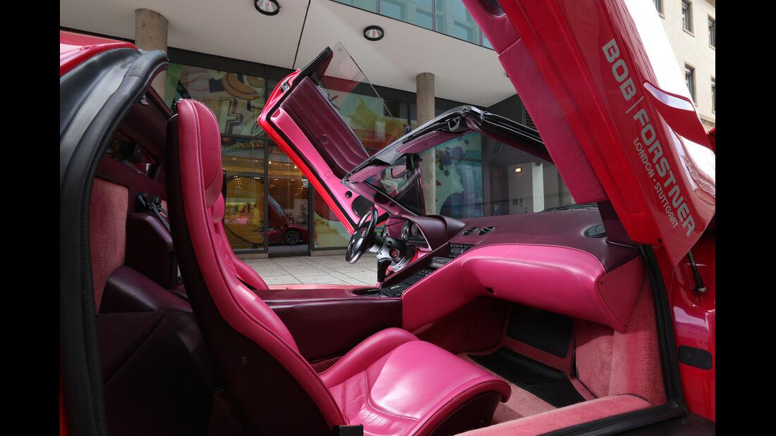Lamborghini Diablo, Interieur, Scherentüren