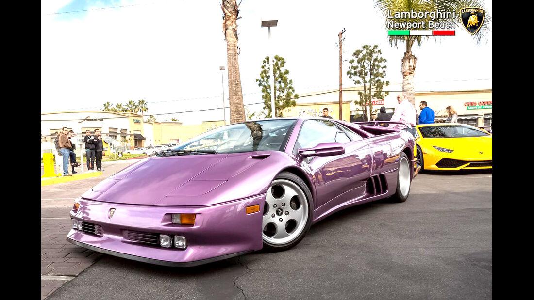 Lamborghini Diablo SE 30 - Supercar Show - Lamborghini Newport Beach
