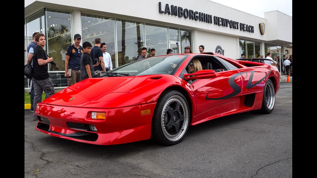 Lamborghini Diablo SV - 200 mph Supercarshow - Newport Beach - Juli 2016