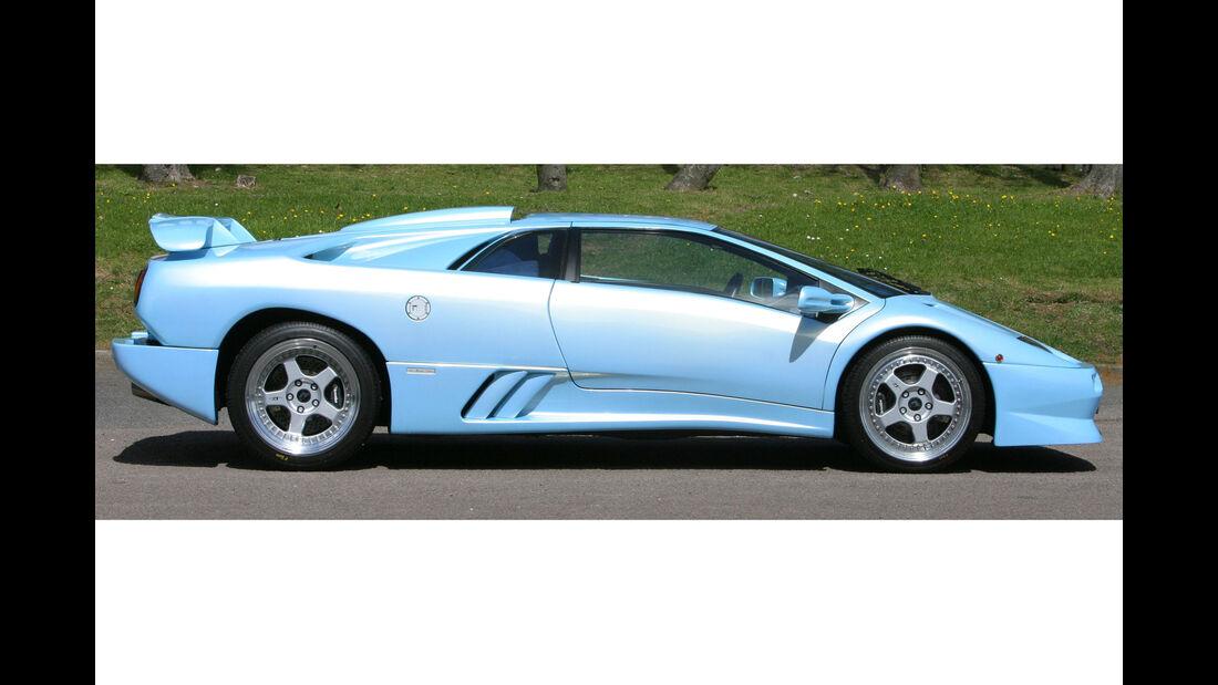 Lamborghini Diablo SV - V12 - Supersportwagen - Ice Blue