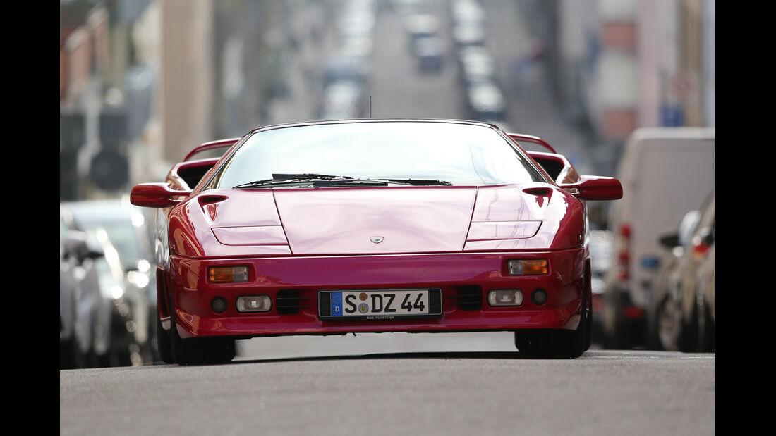 Lamborghini Diablo VT Roadster, Frontansicht