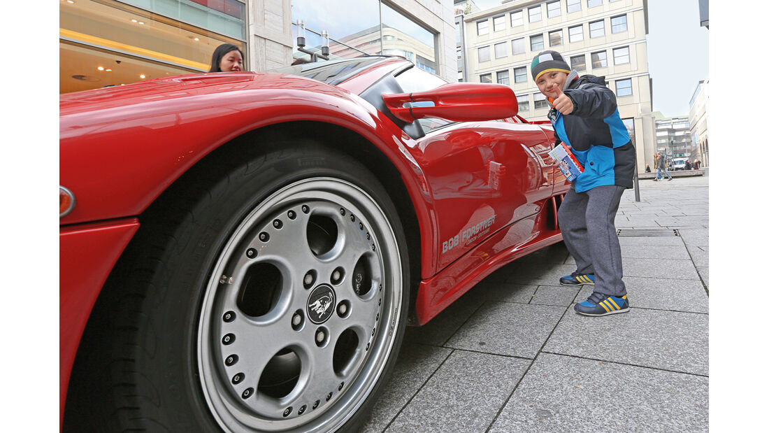 Lamborghini Diablo VT Roadster, Rad, Felge