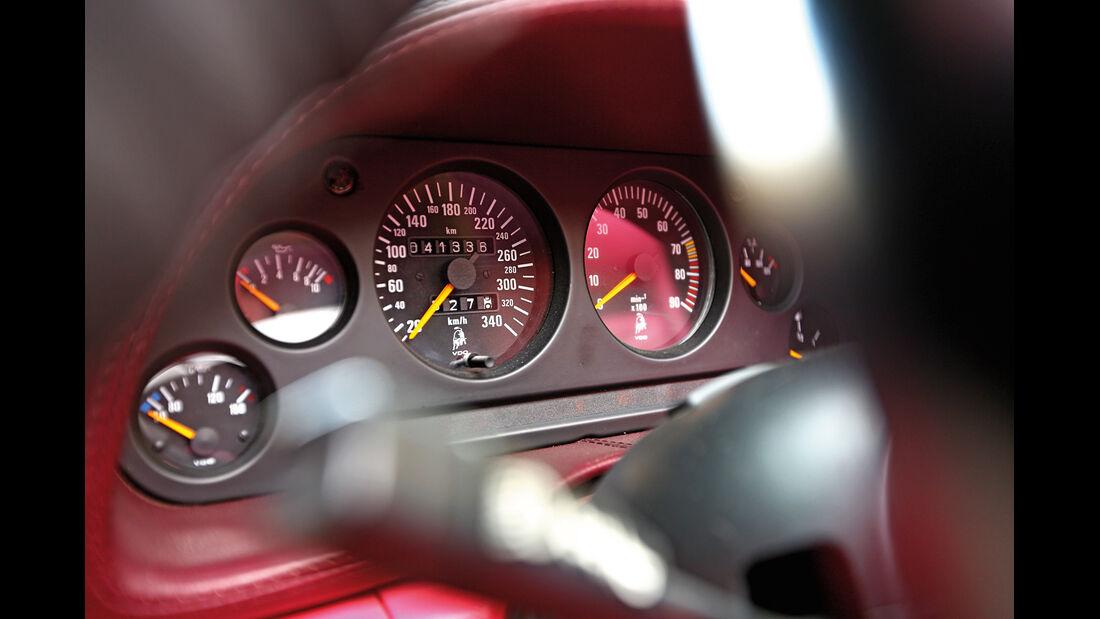 Lamborghini Diablo VT Roadster, Rundinstrumente