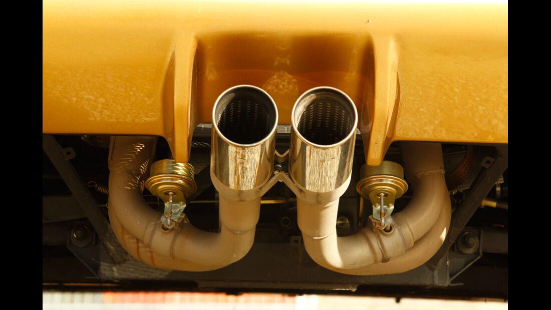 Lamborghini Diabolo 6.0 S.E., Auspuff, Auspuffanlage