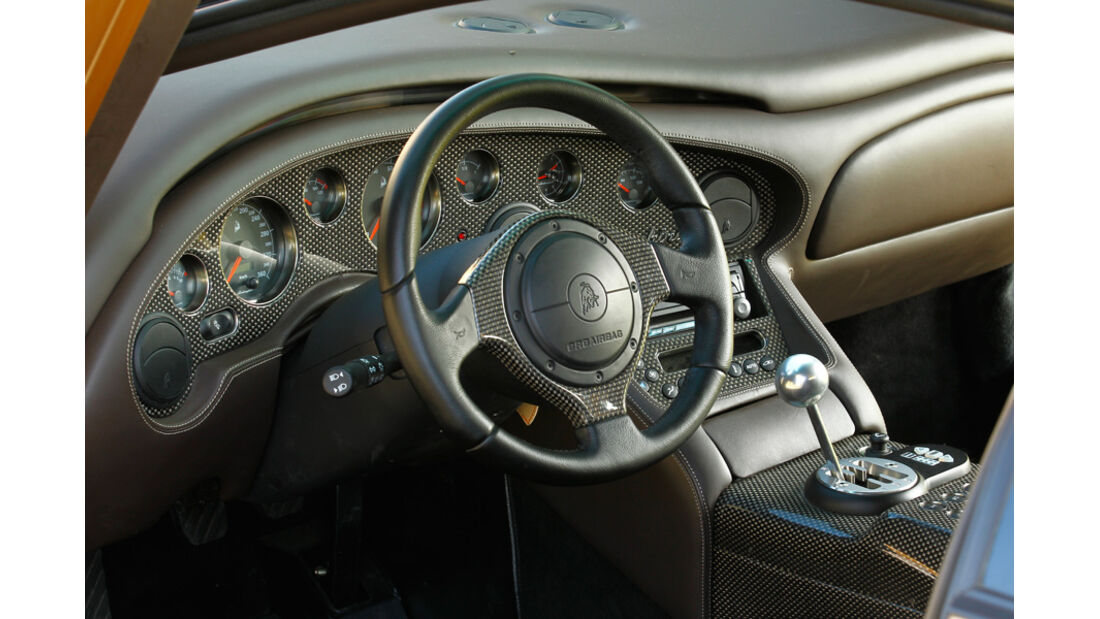 Lamborghini Diabolo 6.0 S.E., Cockpit, Lenkrad