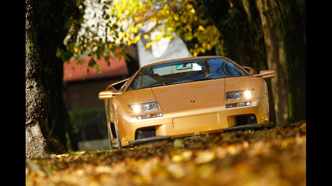 Lamborghini Diabolo 6.0 S.E., Frontansicht, Überlandfahrt