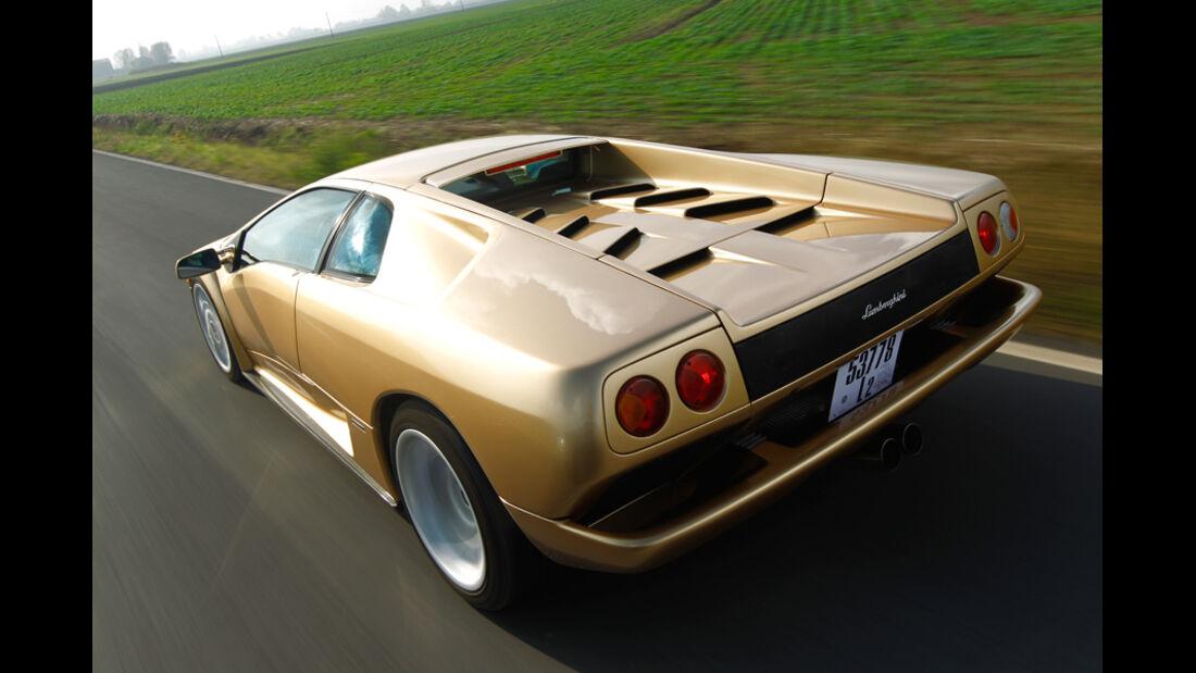 Lamborghini Diabolo 6.0 S.E., Seitenansicht, Seite, Überlandfahrt