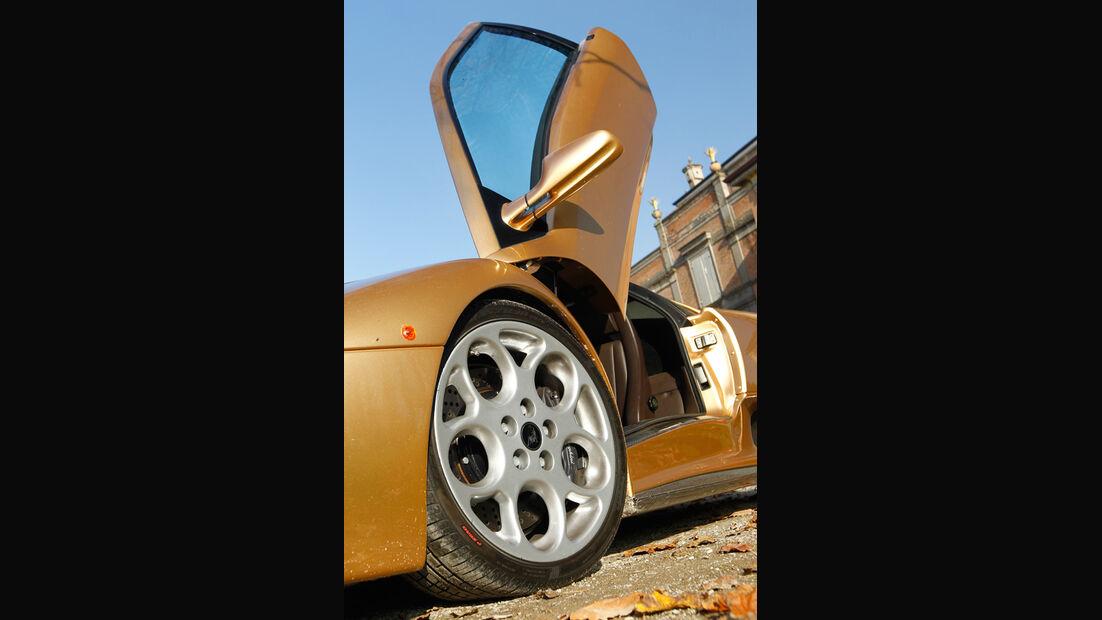 Lamborghini Diabolo 6.0 S.E., Vorderrad, Felge, Flügeltür