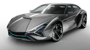 Lamborghini Elektro Elektroauto Retusche 2019 Concept