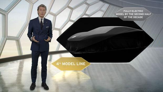 Lamborghini Elektro verhüllt