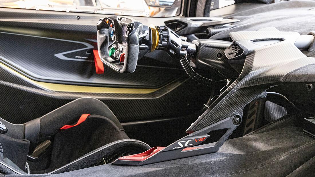 Lamborghini Essenza SCV12, Interieur