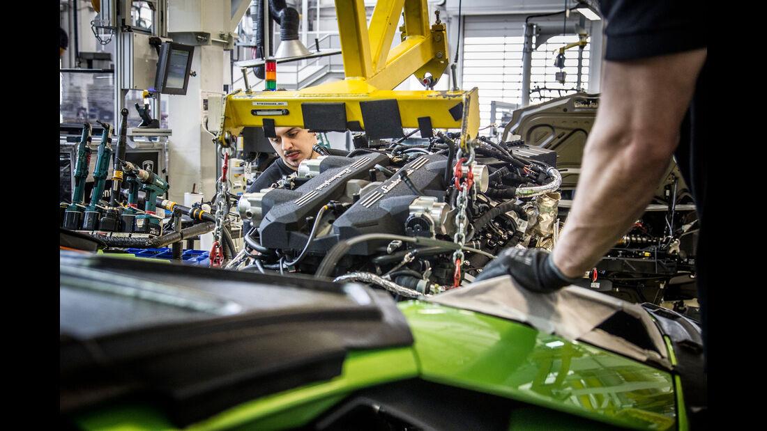Lamborghini - Fabrik - Produktion - Sant'Agata Bolognese
