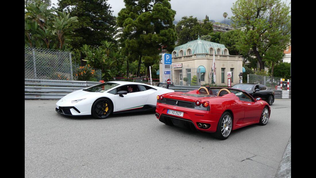 Lamborghini - Ferrari - Carspotting - GP Monaco 2019