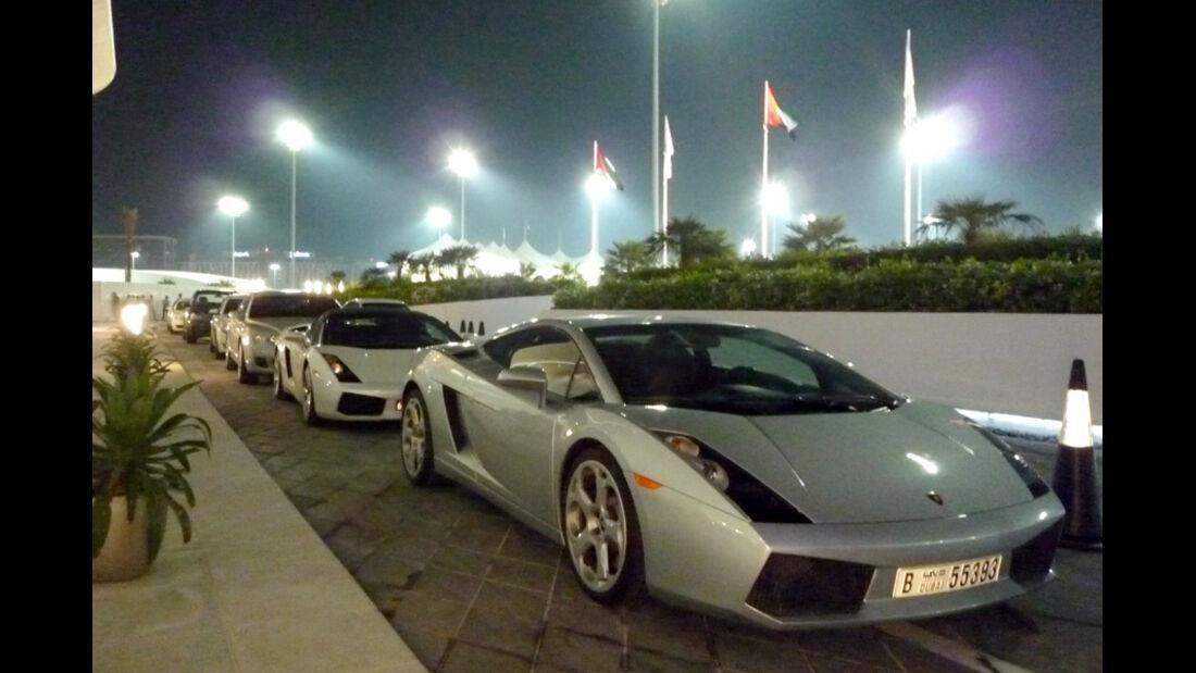 Lamborghini Gallardo Abu Dhabi